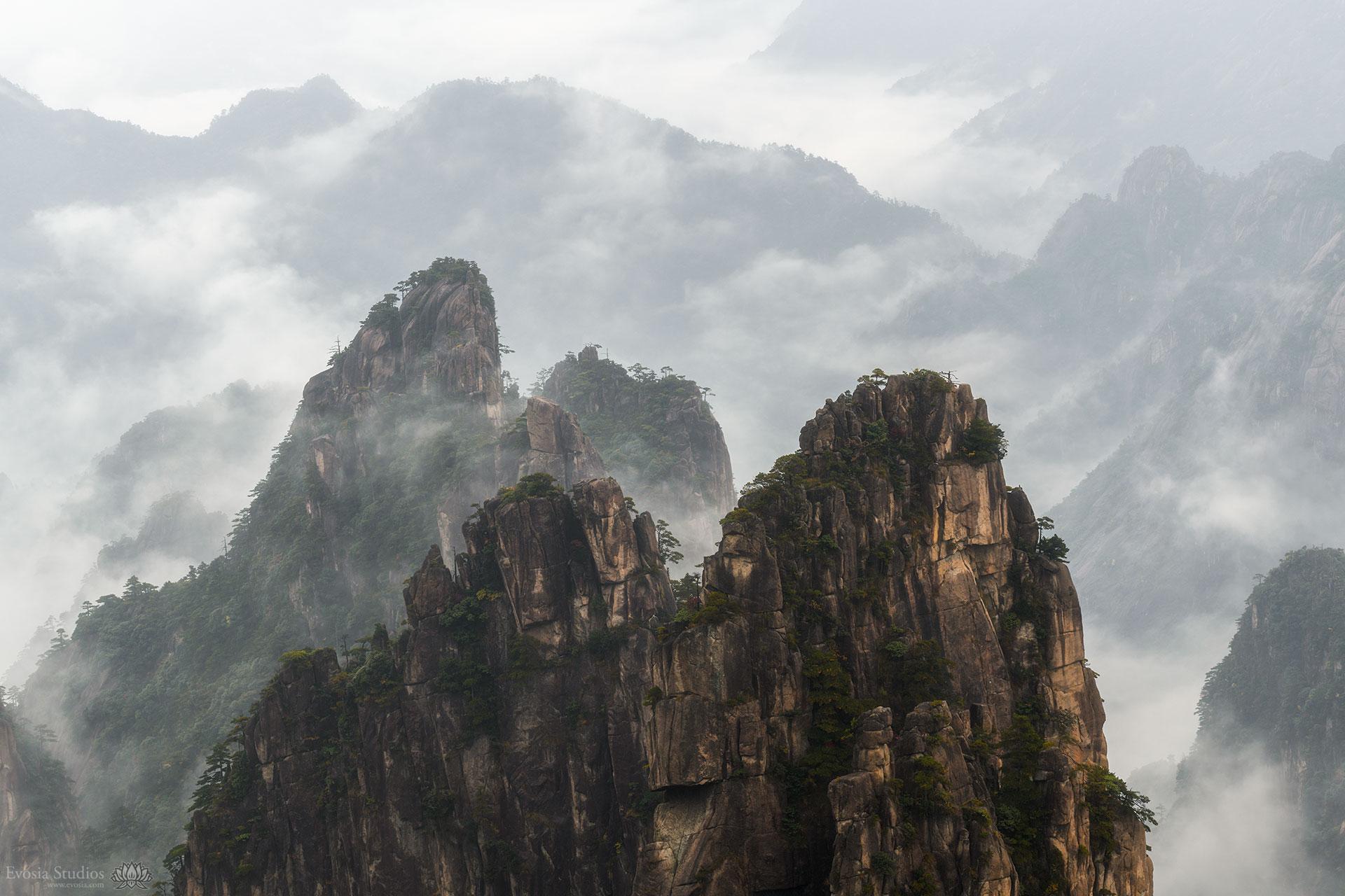 Film: 黄山 Mt Huangshan, China